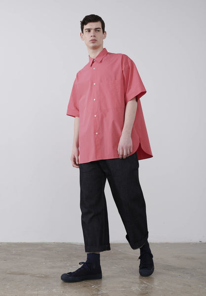 Sorono Shirt In Barragan Pink - Studio Nicholson