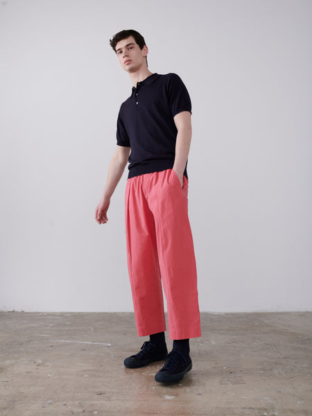 Assai Pant In Barragan Pink - Studio Nicholson