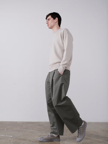 Ben Volume Pant in Lead