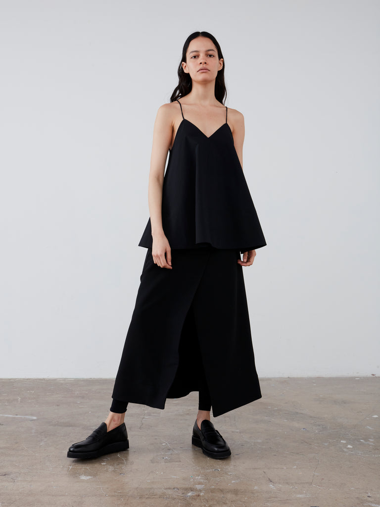 Luxor Top in Black - Studio Nicholson