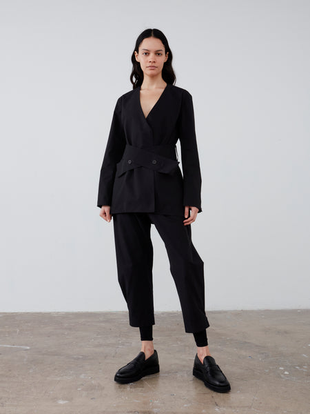 Ora Jacket in Black - Studio Nicholson