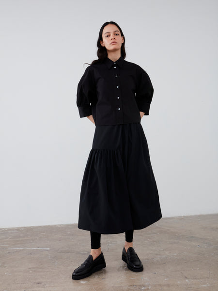 Fano Skirt in Black - Studio Nicholson