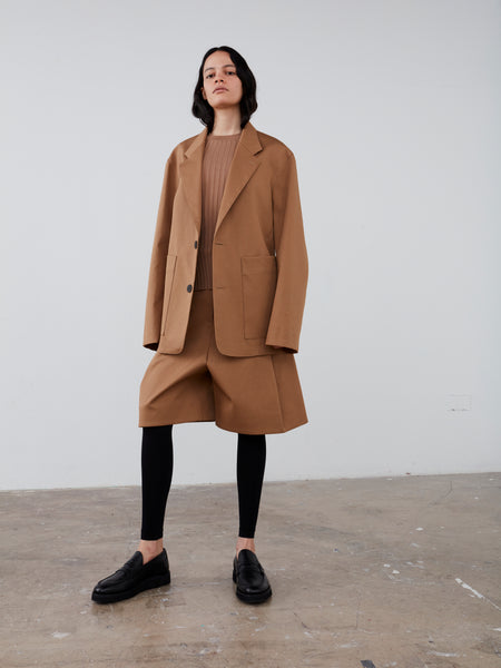 Conde Jacket in Tan - Studio Nicholson