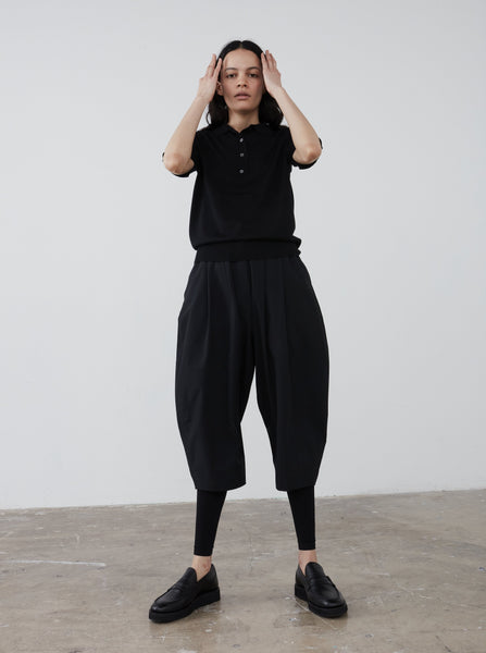 Patmos Pant in Black - Studio Nicholson