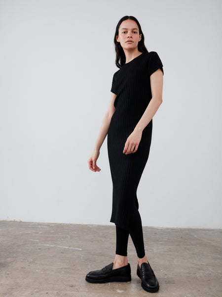 Pretoria Knit Dress in Black - Studio Nicholson