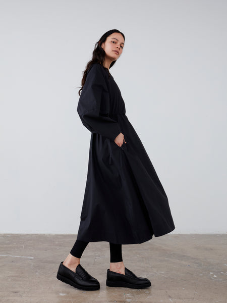 Herran Dress In Dark Navy - Studio Nicholson