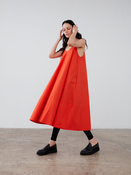 Oahu Dress in Tomato - Studio Nicholson