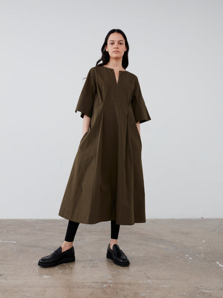 Nice Dress in Olive - Studio Nicholson