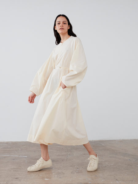 Herran Dress In Winter White - Studio Nicholson