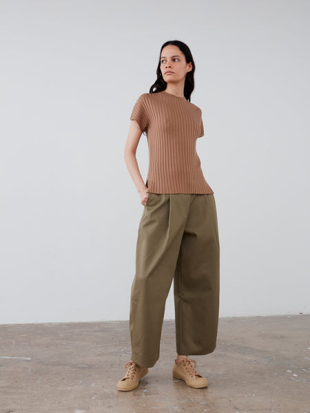 Petani Knit in Tan - Studio Nicholson