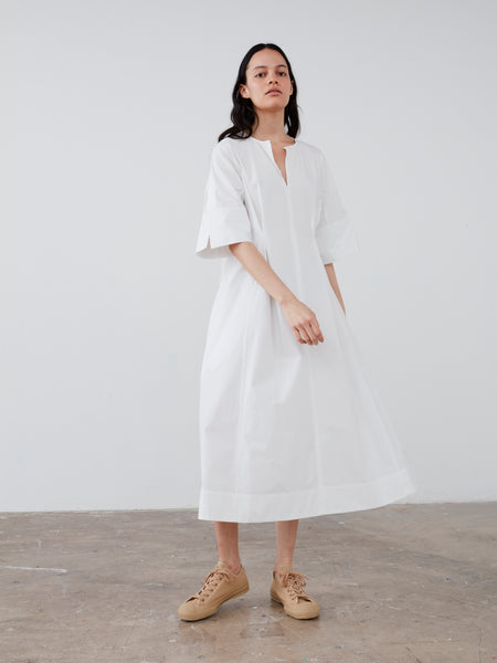 Nice Dress in Optic White - Studio Nicholson