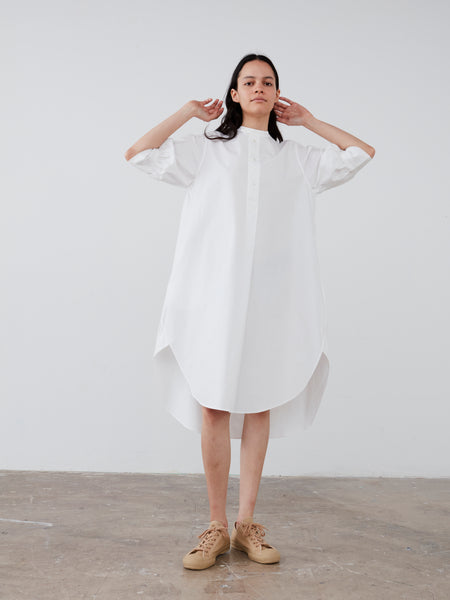 Maui Dress in Optic White - Studio Nicholson