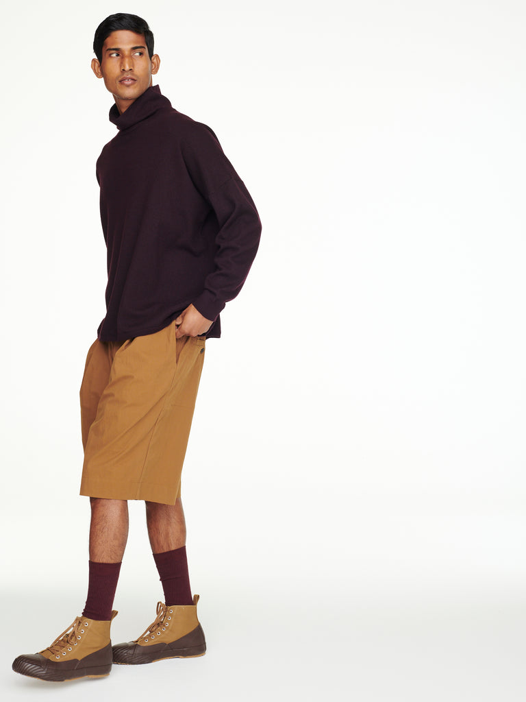 Romi Shorts In Cognac