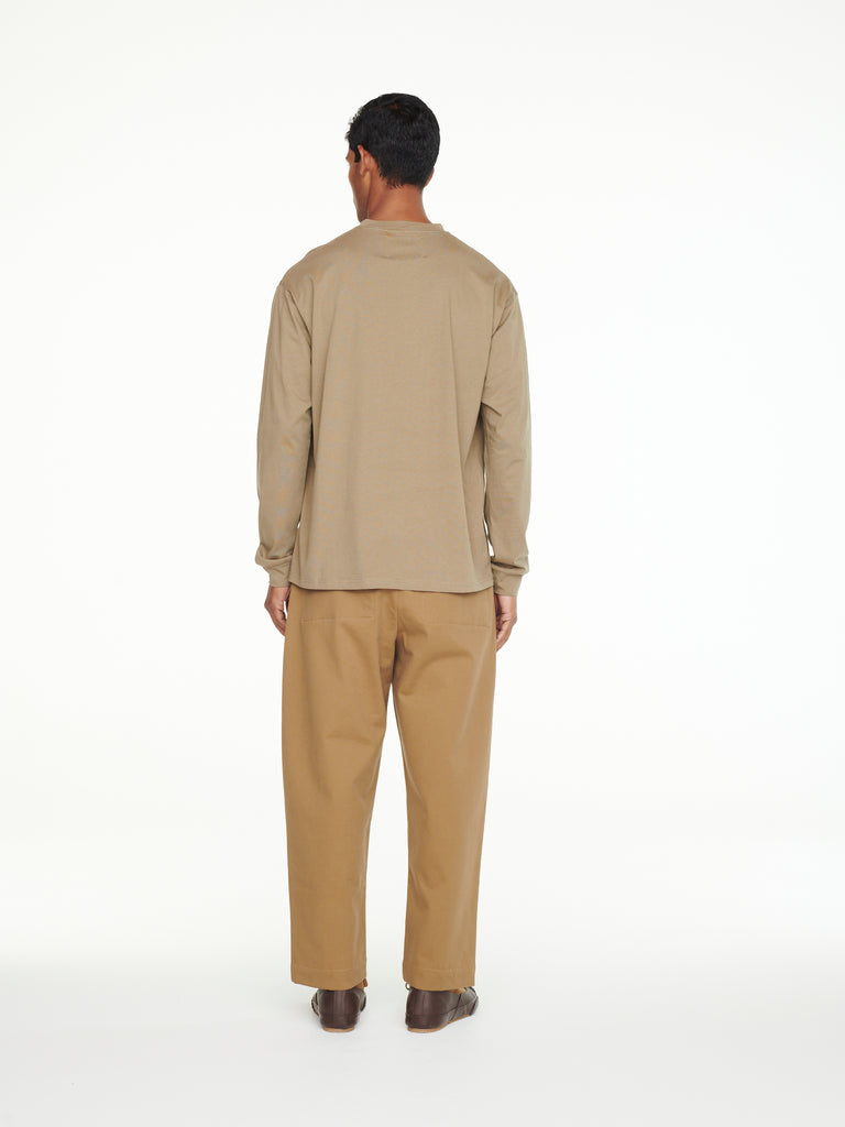Bionda Pant In Tan