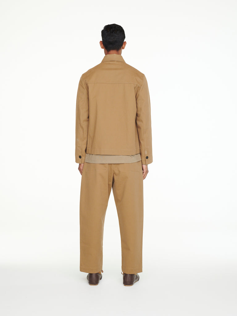 Timora Jacket In Tan