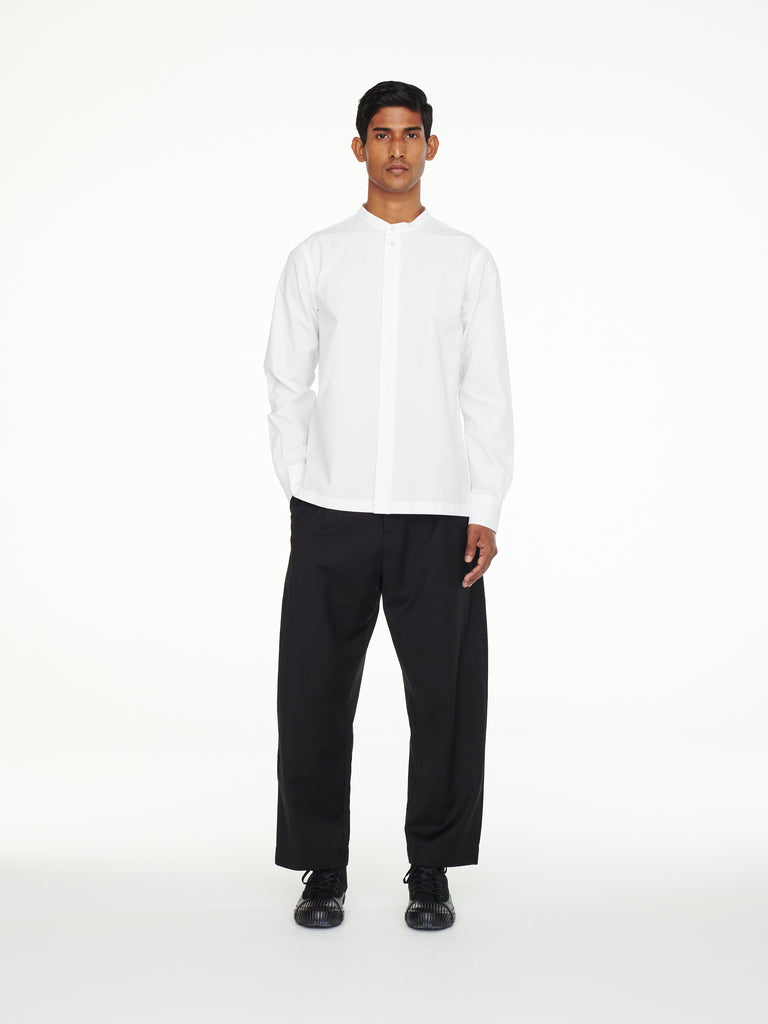 Bionda Pant In Black Tropical Wool