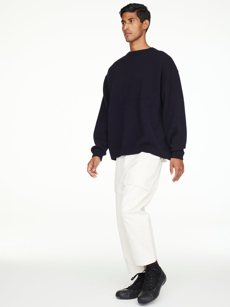 Hemyl Knit In Dark Navy