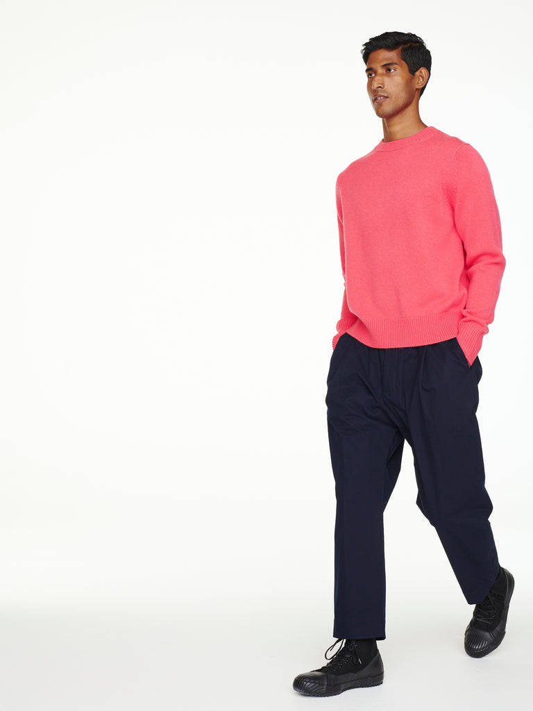 Sorello Cashmere Knit In Bubblegum