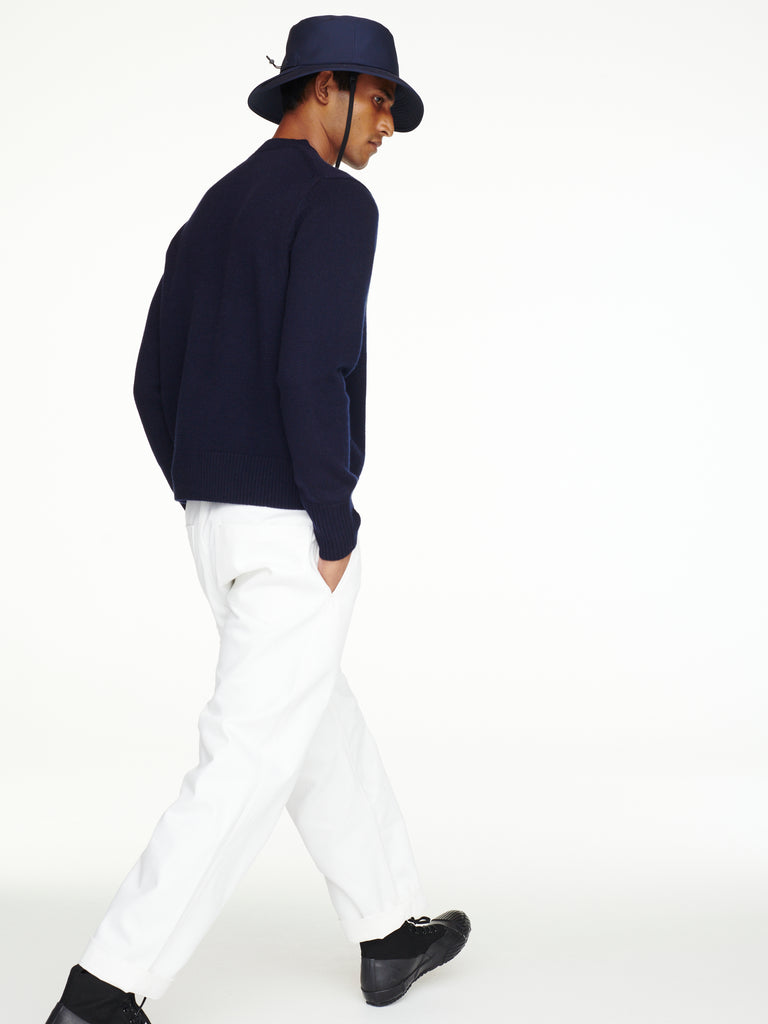 Sorello Cashmere Knit In Navy