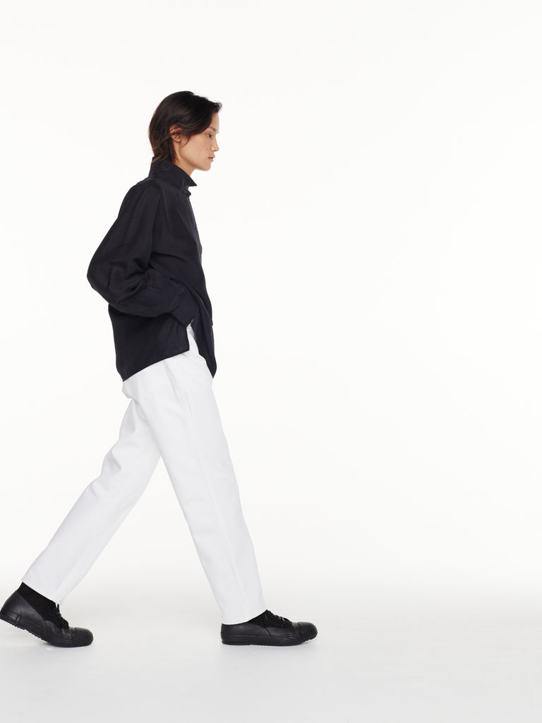 Avanti Denim Pant in Optic White