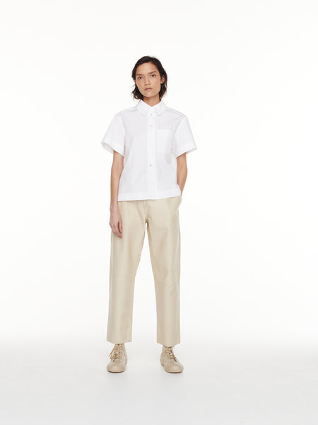 Avanti Leather Pant in Butter