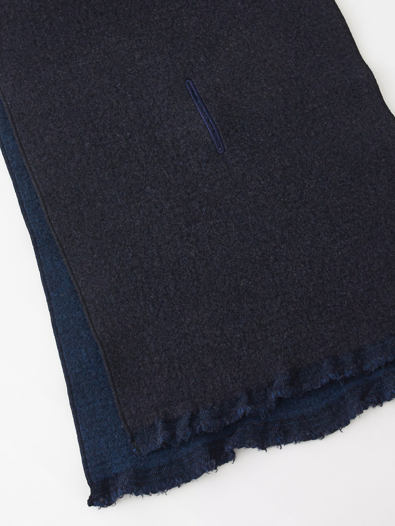 Sofia Scarf In Navy and Dark Navy