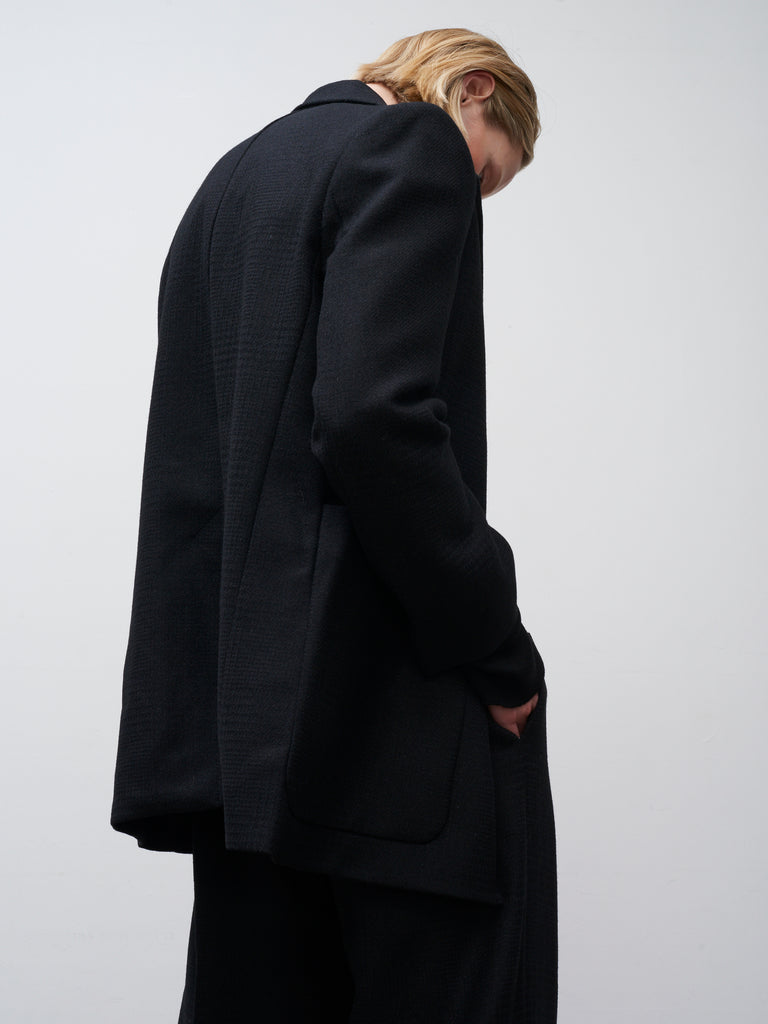Acre Jacket In Black - Studio Nicholson