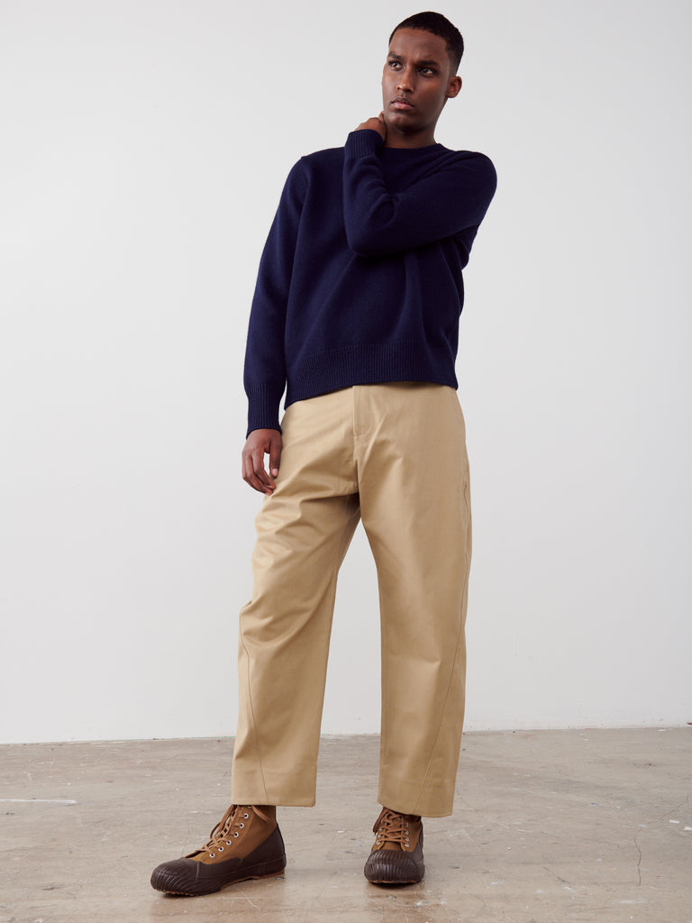 Adagio Pant In Tan - Studio Nicholson