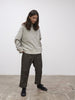 SNJP AKITA Sweatshirt In Loopback Grey Marl
