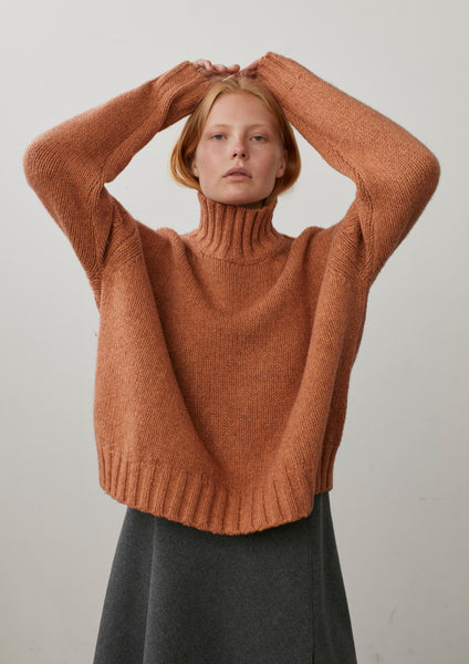 Arad Turtleneck In Nectarine