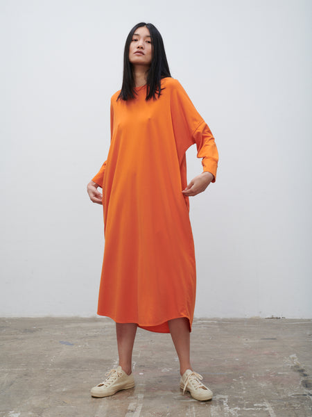 Avilla Dress In Saffron - Studio Nicholson