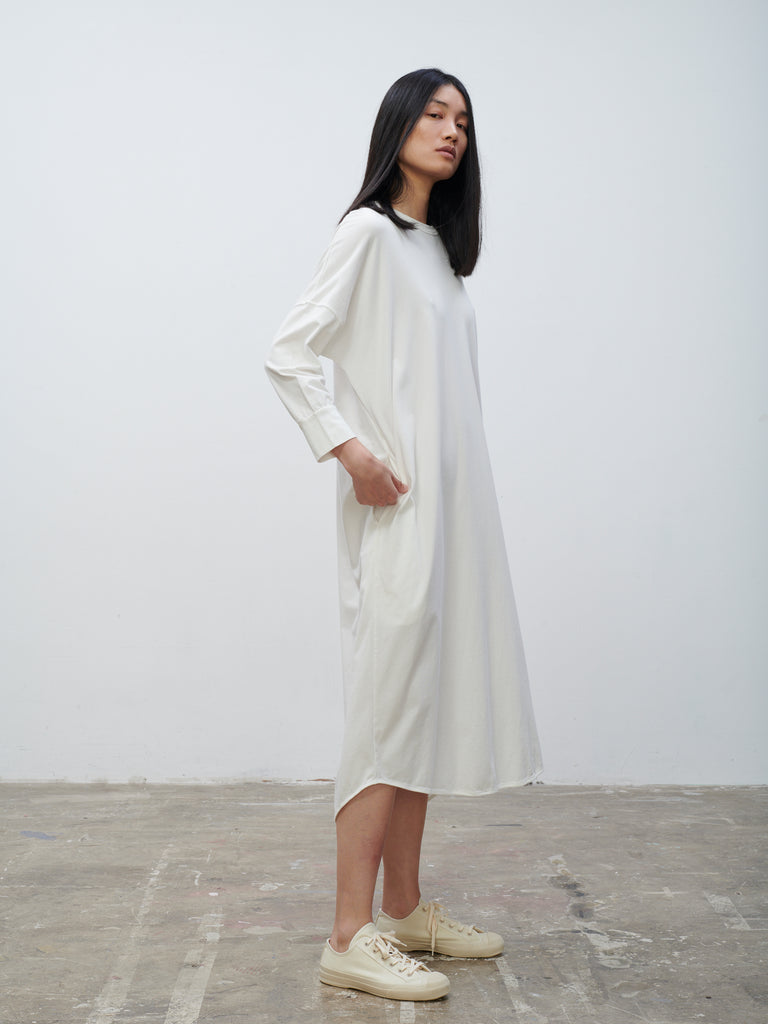 Avilla Dress In Winter White - Studio Nicholson