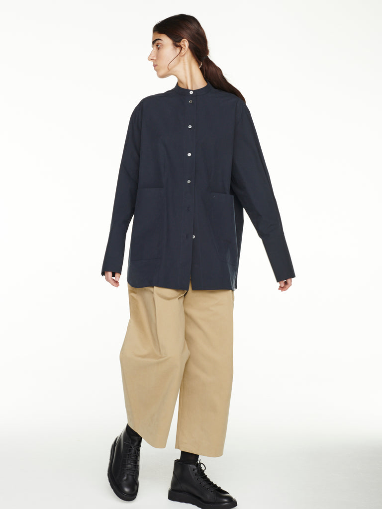 Beek Shirt In Dark Navy
