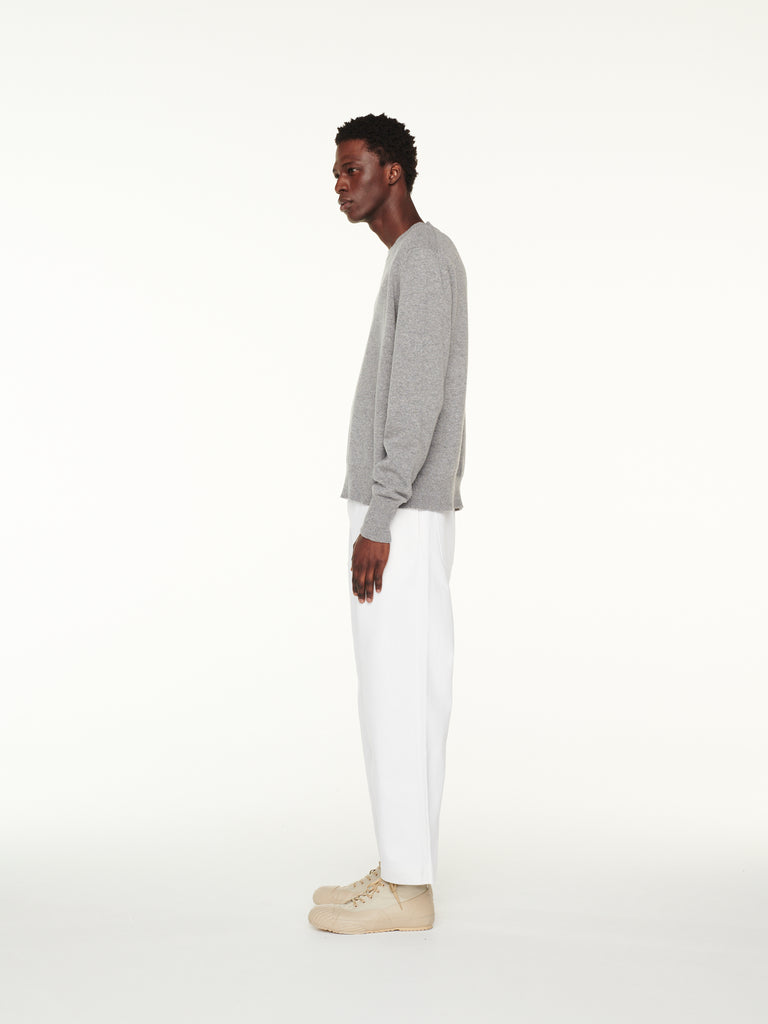Bill Pant In Selvedge Denim Optic White