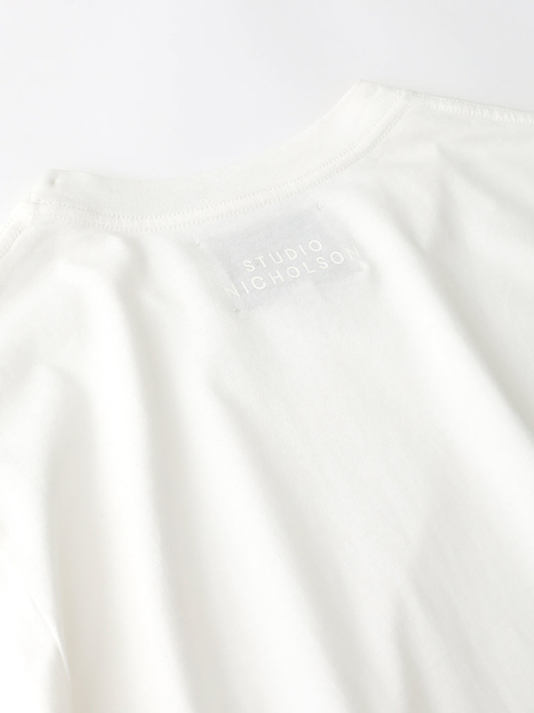Bric Logo T-Shirt in Optic White