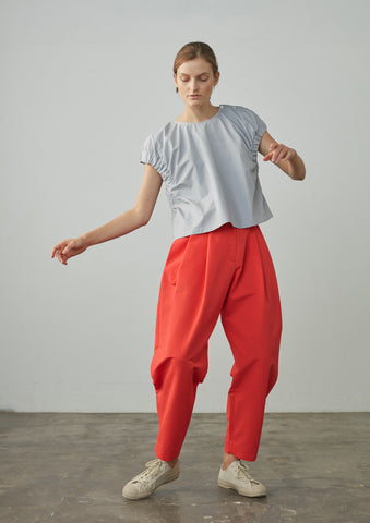 Back Pant In Red