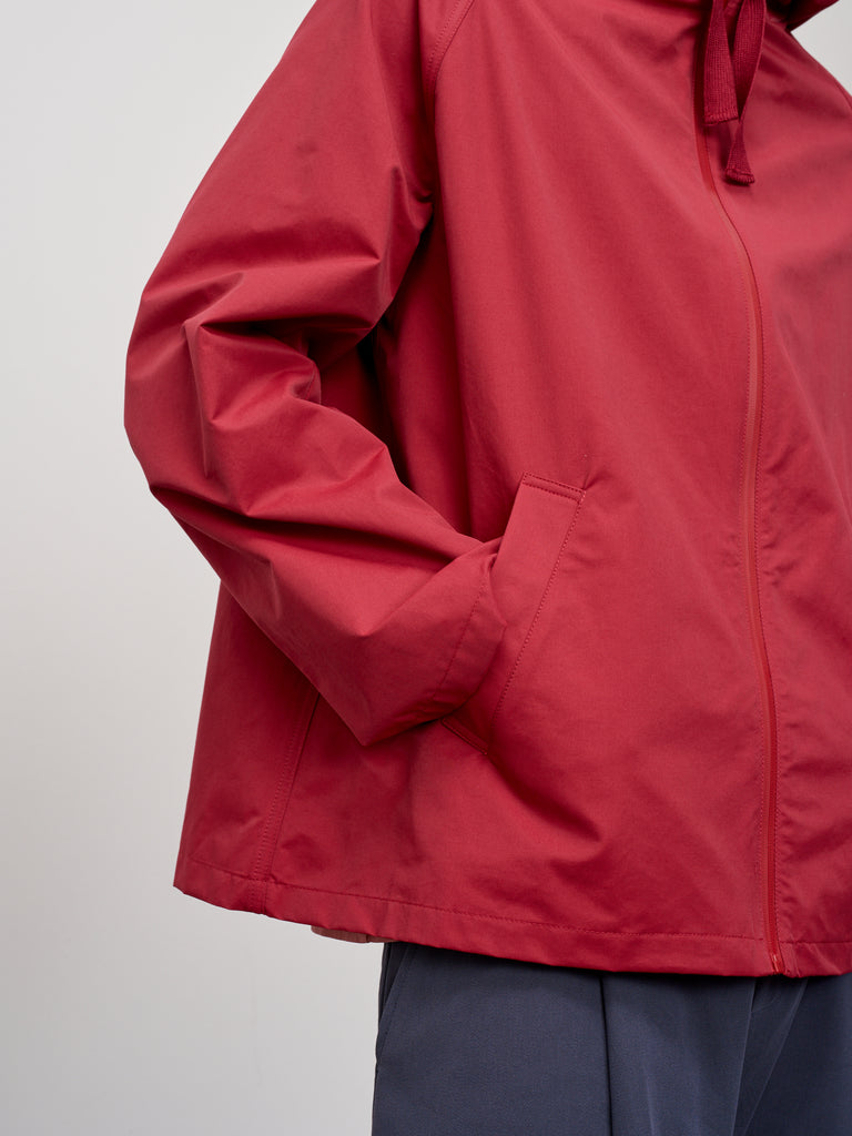 Bailey Jacket In Ruby - Studio Nicholson
