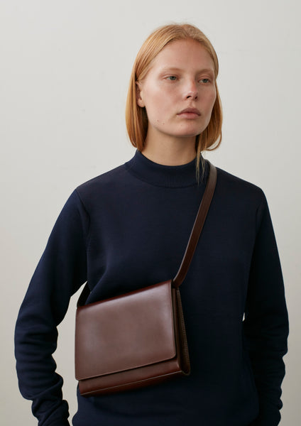 Belter Leather Bag In Conker