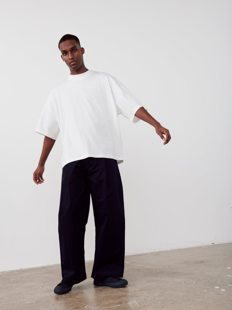 Ben Volume Pant in Dark Navy - Studio Nicholson