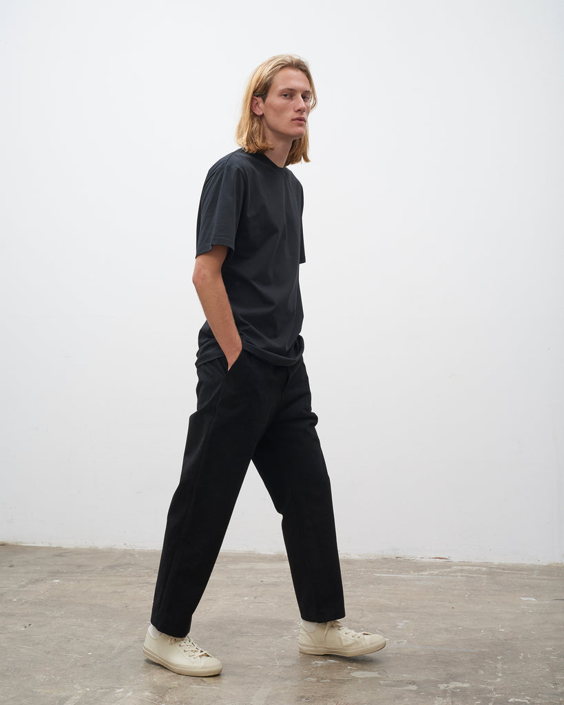Bill Pant In Black - Studio Nicholson