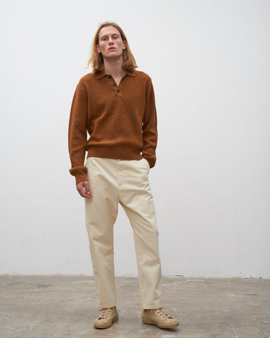 Bill Pant In Cream