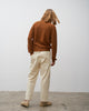 Bill Pant In Cream - Studio Nicholson
