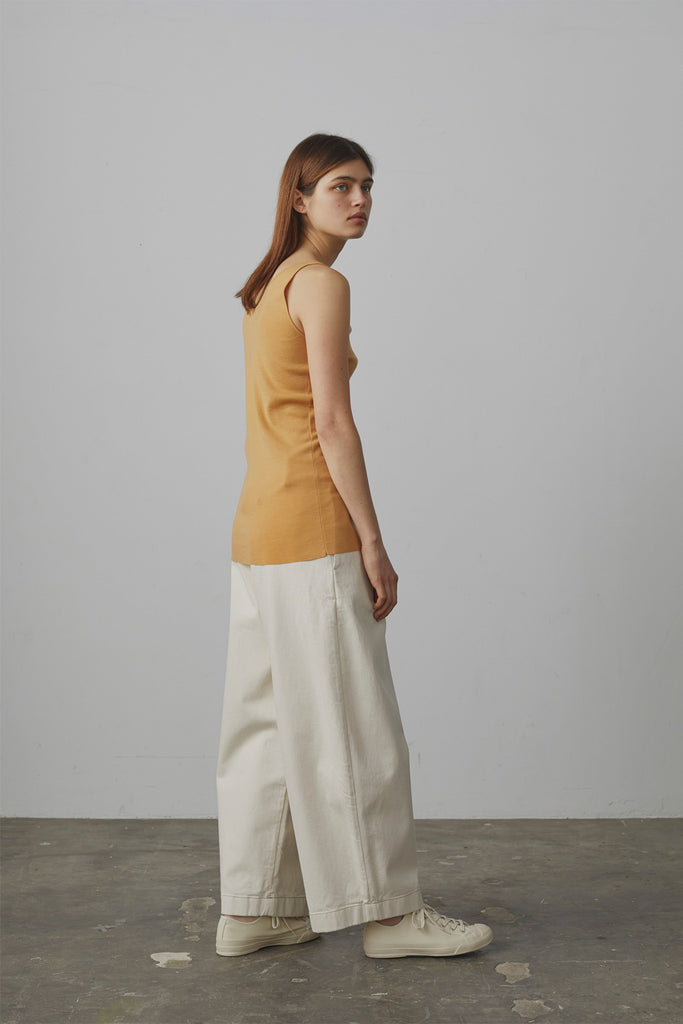 Bonnard Balloon Pant In Natural Denim - Studio Nicholson