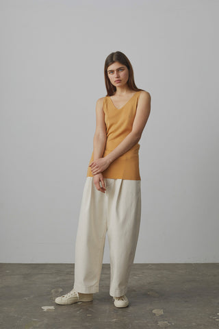 Bonnard Balloon Pant In Natural Denim