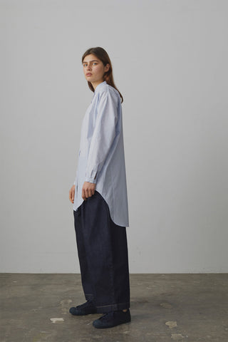 Bonnard Balloon Pant In Indigo Denim