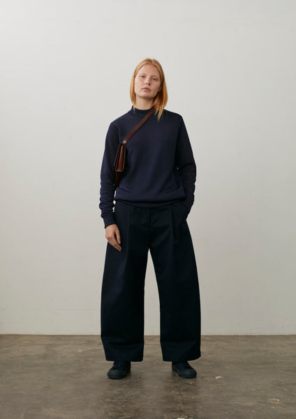 Bonnard Pant In Navy Drill