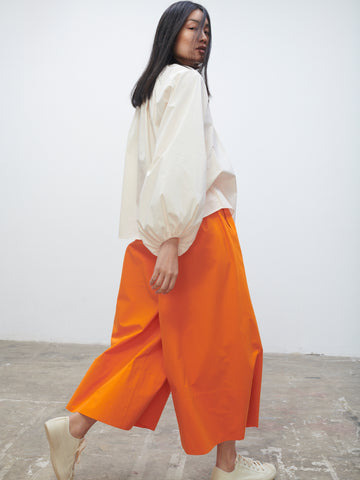 Bottle Pant In Saffron