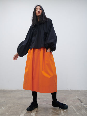 Bustas Skirt In Saffron