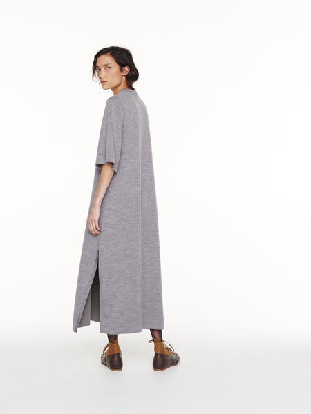 Canzi Dress in Grey Marl