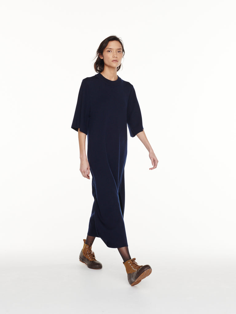 Canzi Dress in Dark Navy